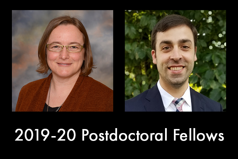 2019-20 Postdoctoral Fellows